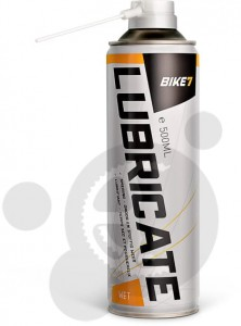 Bike 7  Lubricate Wet  500 ml aerosol