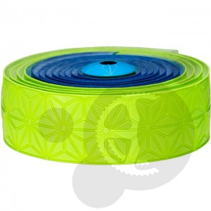 SUPACAZ Owijka SUPER STICKY KUSH  Neon Blue & Neon Yellow